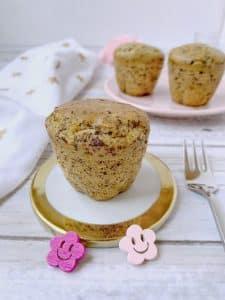 Un Sourire aux Lèvres / Muffins sans gluten sans lactose et sans oeuf