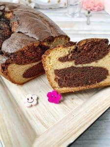 THE marbré sans gluten ni lactose ni oeuf, moelleux comme on les aime #vegan #sansgluten